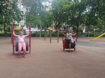 Dziewczynki na kreciołkach
