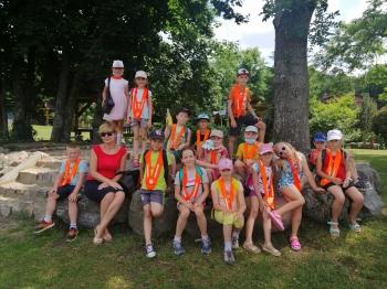 Dzieci z grupy II na wycieczce
