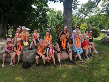 Dzieci z grupy I na wycieczce