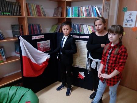 Narodowe Święto Niepodległości w bibliotece