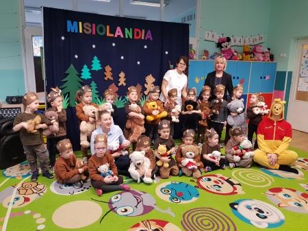 Dzień Pluszowego Misia przedstawienie dla Przedszkola