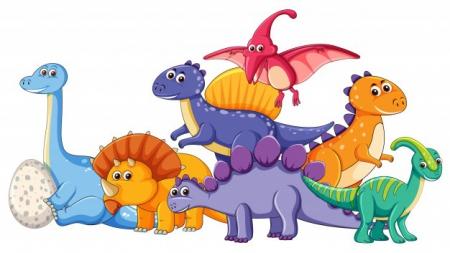 Dzień dinozaura. Glottozabawa - klasy dinozaurów