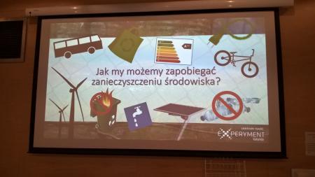 EKO-KATASTROFA -zajęcia doświadczalne w Centrum Nauki Experyment w Gdyni
