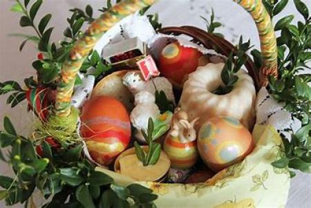 07.04. 2020 Koszyczek Wielkanocny