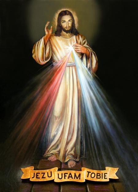 RELIGIA W NIEDZIELĘ MIŁOSIERDZIA BOŻEGO ODDAJĘ CZEŚĆ JEZUSOWI