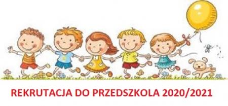 Listy kandydatów przyjętych do oddziałów przedszkolnych na rok szkolny 2020/2021