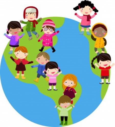 Dzieci z różnych stron świata!- 25.05.2020r.
