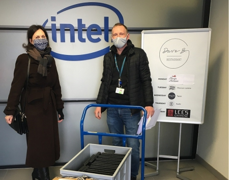 Podziękowania dla firmy Intel Techology Poland Sp. z o.o. za przekazanie laptop