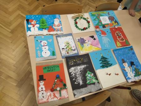 Konkurs pt. Najpiękniejsza kartka świąteczna rozstrzygnięty