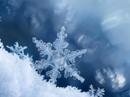 Nasze prace i trochę śniegu ;-)