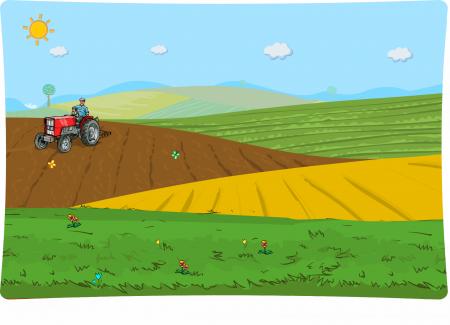 Wiosna w gospodarstwie i na polu