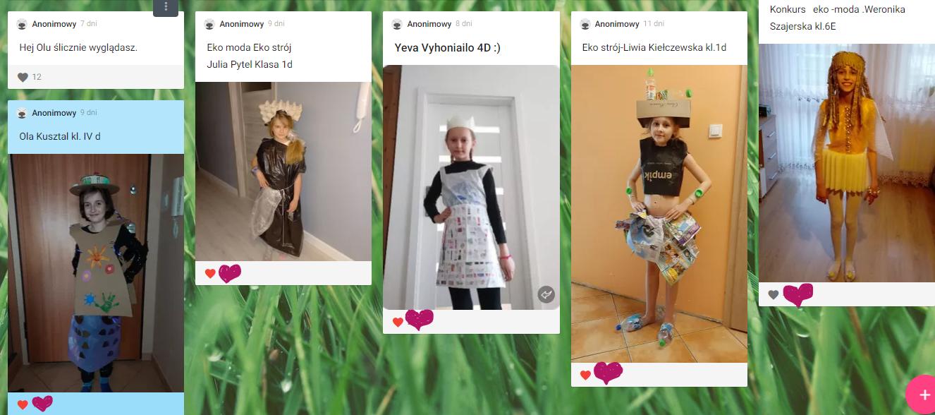 ''Eko Moda Odpadkowa'' - rozstrzygnięcie konkursu