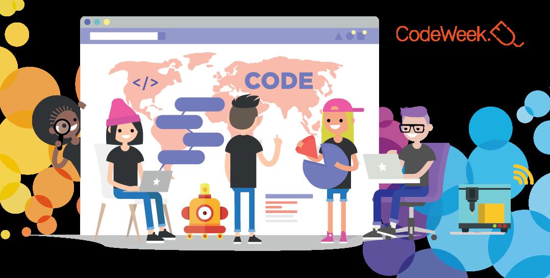 Code Week 2021- zabawy z programowaniem i nie tylko